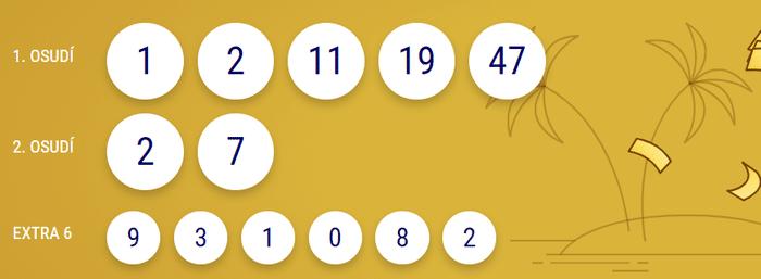 Archiv tažených čísel Eurojackpotu za posledních 10 losování d2bd1037bdc